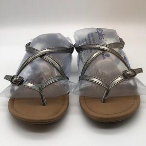 Worn report sandals